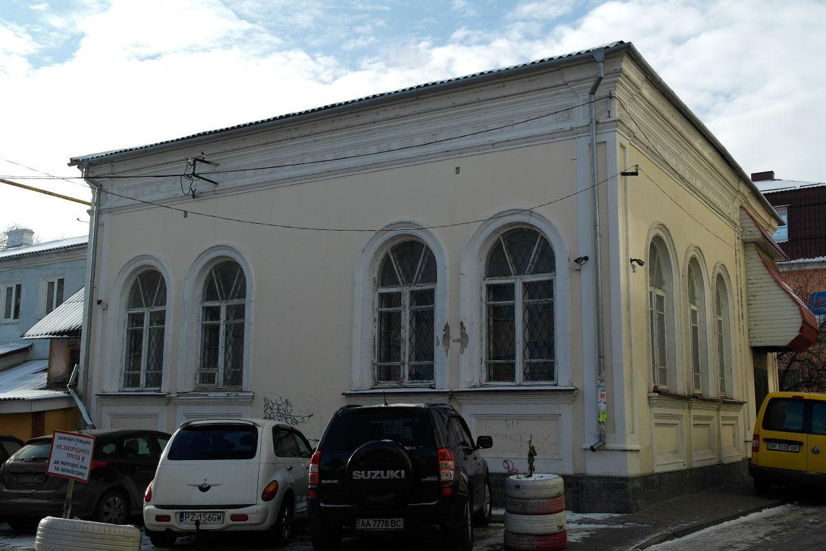 Last synagogue of Rivne