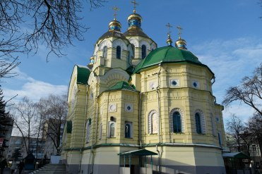 Rivne - Orthodox church, one of the last buildings of old Rivne