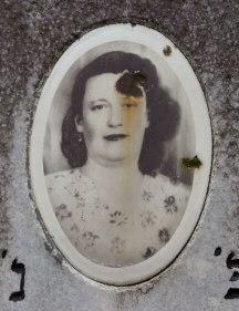 Portraits on gravestones at the Jewish cemetery of Czernowitz (Chernivtsi)