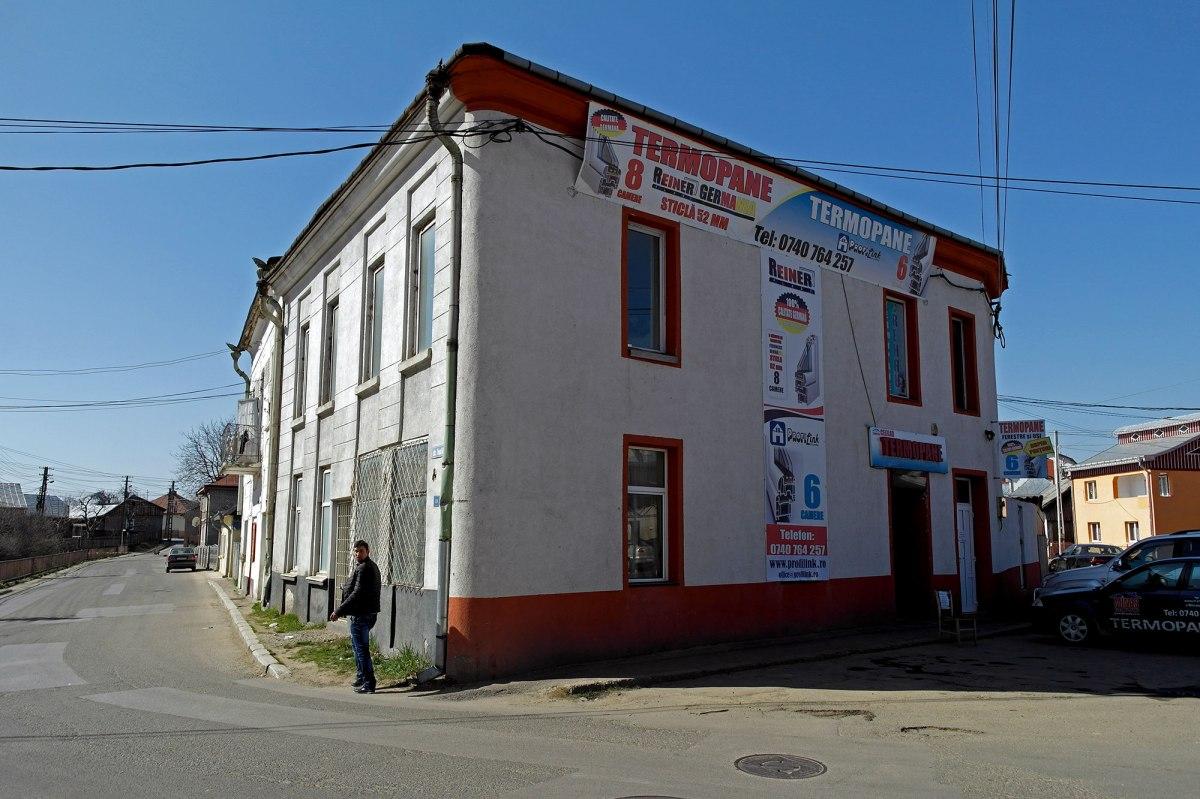 Radautz - former synagogue, now a shop
