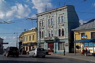 Czernowitz - city center - former ghetto entrance