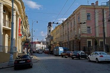 Czernowitz - city center
