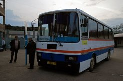 Bus from Czernowitz to Suceava