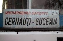 Bus from Czernowitz to Suceava