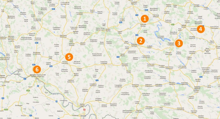 Travel locations in Transnistria