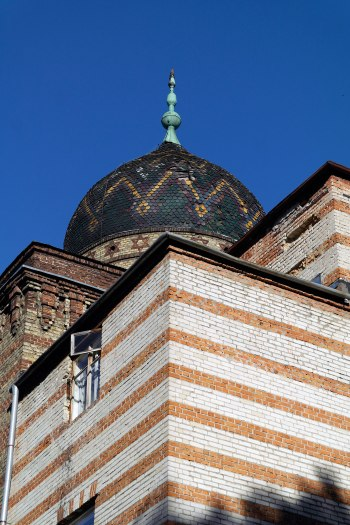 Dome of the former Jewish hospital