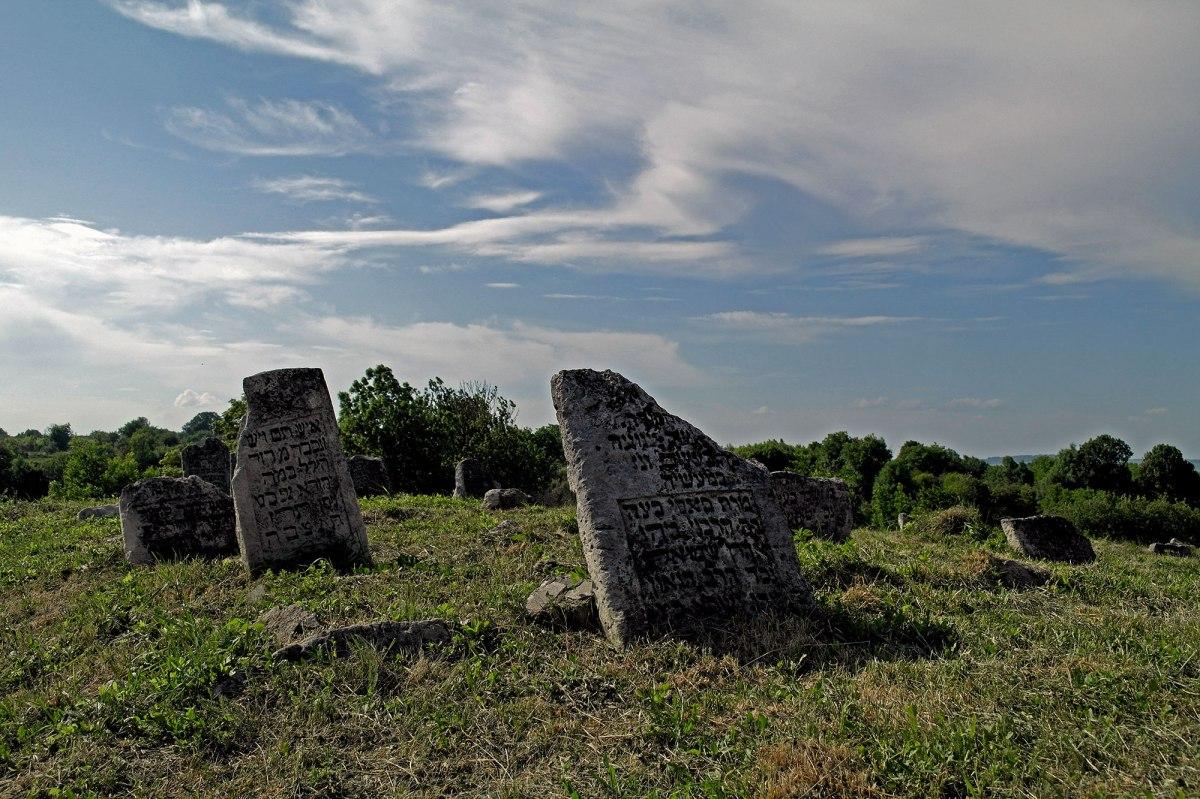 Medzhybizh - Jewish cemetery