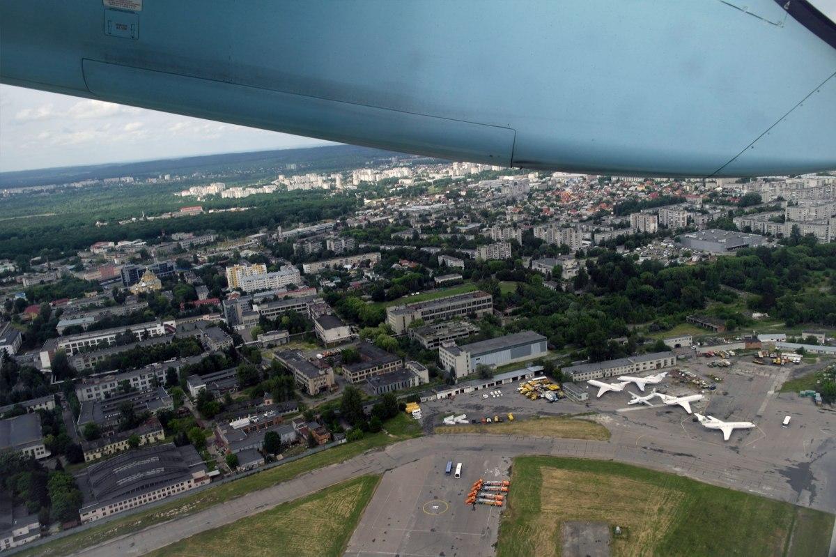 Flight from Lviv