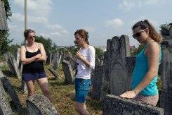 Vyzhnytsia (Wischnitz) - talking about what we saw