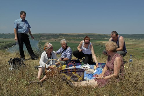 Picnic at Dniester River