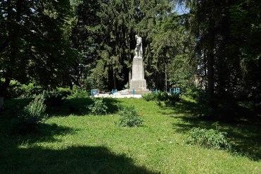 Zolotyi Potik - former Jewish quarter, now a park