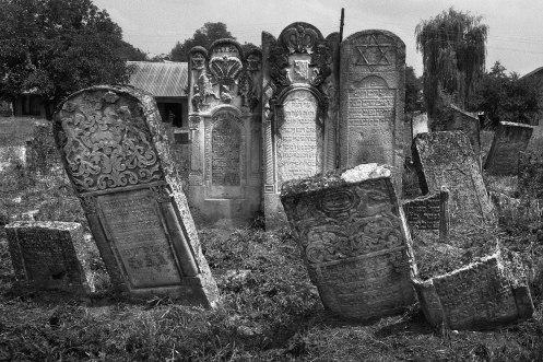Kuty (Galicia) - Jewish cemetery
