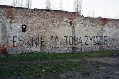 "Warsaw - ""I miss you, Jew!"""