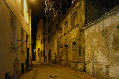 Medieval city center