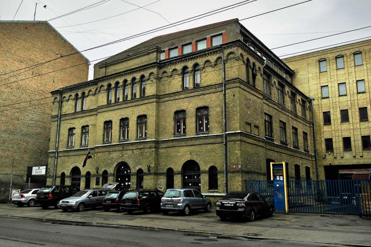 Former synagogue in Stabu Street
