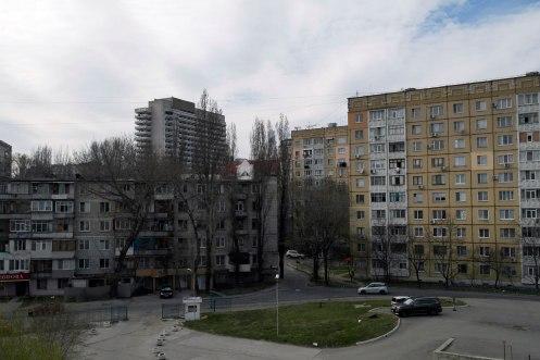 Chişinău - view from the Cosmos Hotel