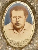Portrait on a Jewish gravestone
