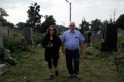 Czernowitz Jewish cemetery - Sylvia de Swaan and Arthur Rindner