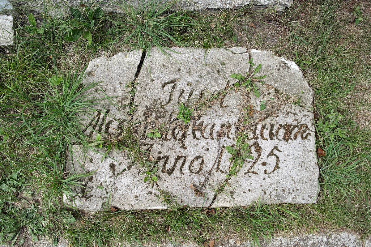 Grave of Prince Cantacuzino at Vikno Christian cemetery