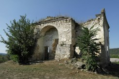 Raşcov (Rashkov) - ruin of a Christian church