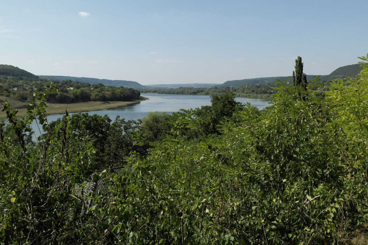 Raşcov (Rashkov) - view towards river Dniester