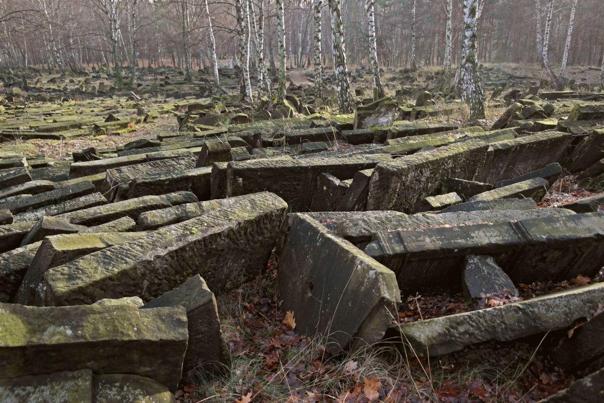 Brodno Jewish cemetery, Warsaw, Poland