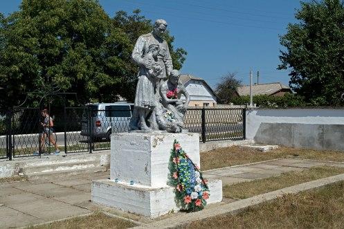 Dubasari mass grave memorial, 'Transnistria', Moldova