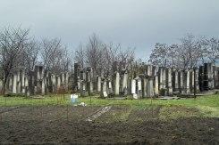 Itcani New Jewish cemetery, Romania