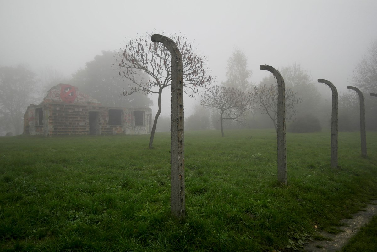 Płaszów concentration camp site, Kraków, Poland
