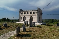 Tomb of the Baal Shem Tov in Medzhybizh, Ukraine