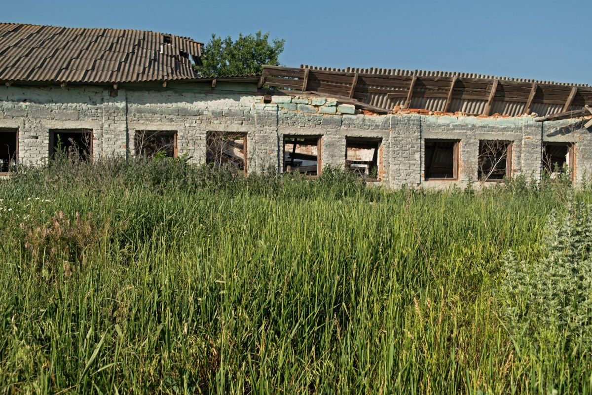 Mykhailivka concentration camp site, Ukraine