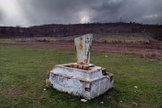 Christian tomb next to river Dnieter at Vadul-Raşcov