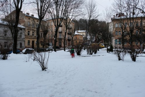 Old Market - once Lviv's reform synagogue stood here