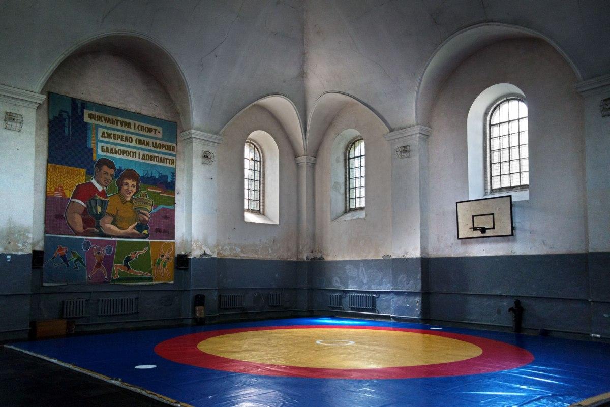 Horodenka synagogue, Ukraine