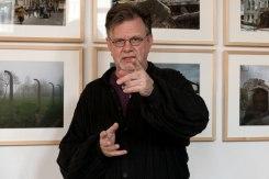 Klaus-Dieter Ehmke speaking at the exhibition opening