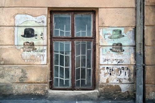 Lviv, shop of a a Jewish hat maker, Ukraine