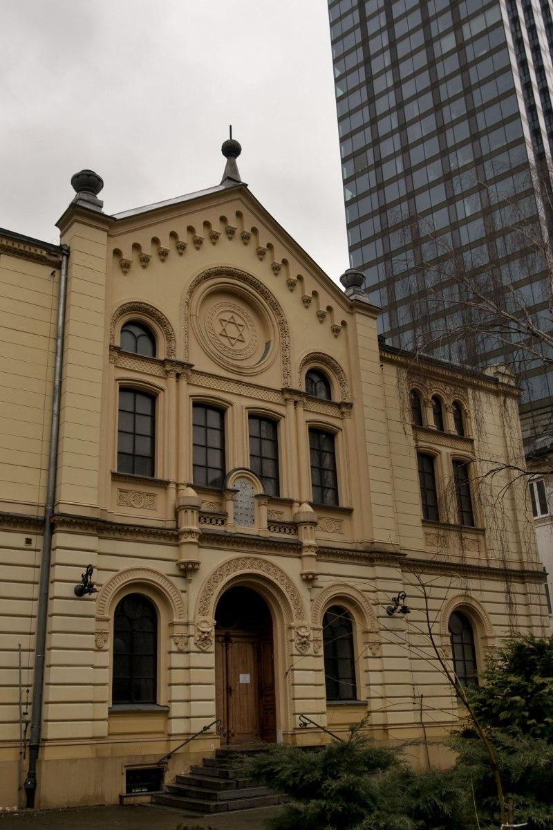 Nożyk Synagogue, Warsaw