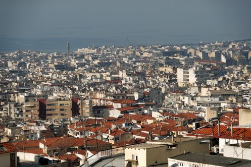 Thessalonik, view from Ano Polis