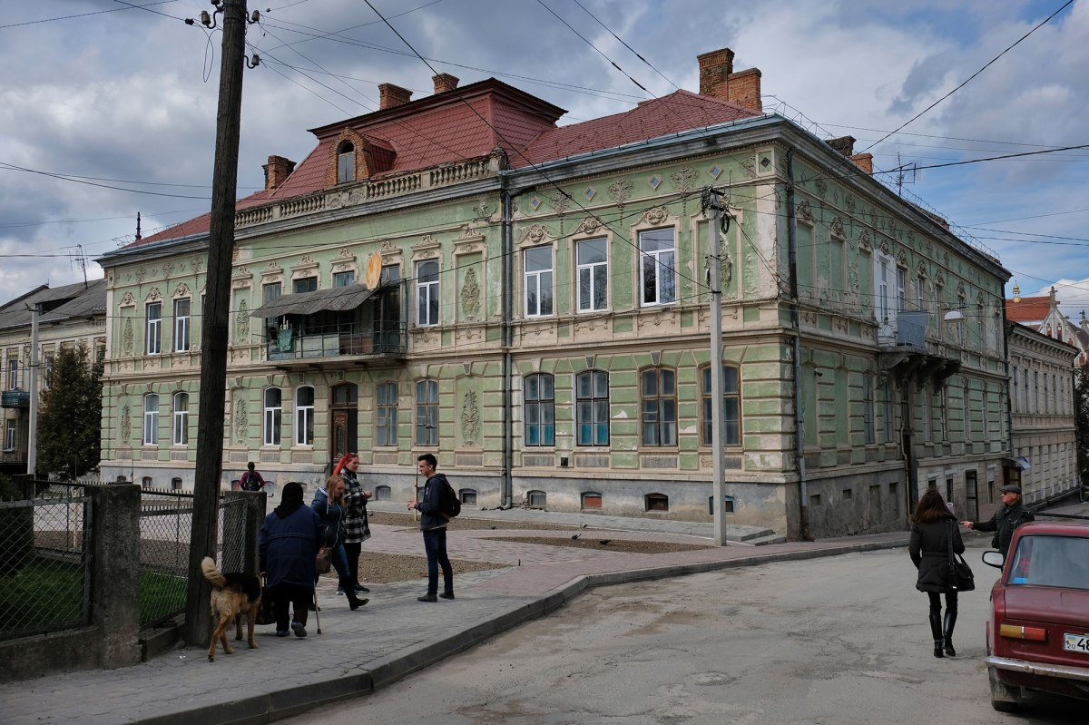 Berezhany - building in the old town