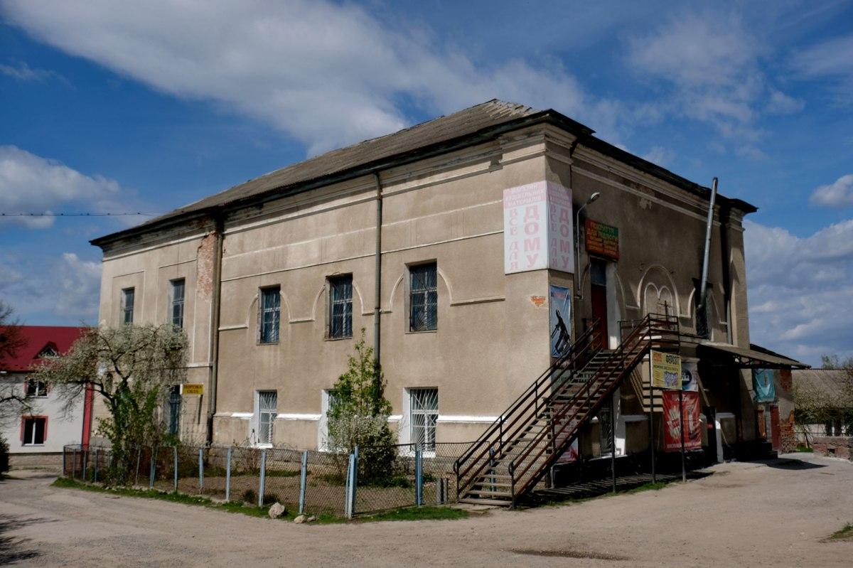 Monastyryska synagogue