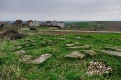 Peremyshliany - remains of Jewish tombstones