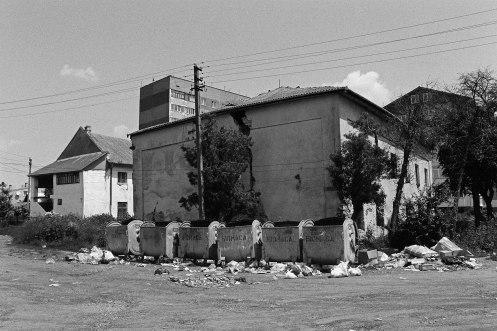 Two synagogues, Burshtyn, Galicia, Ukraine, 2014