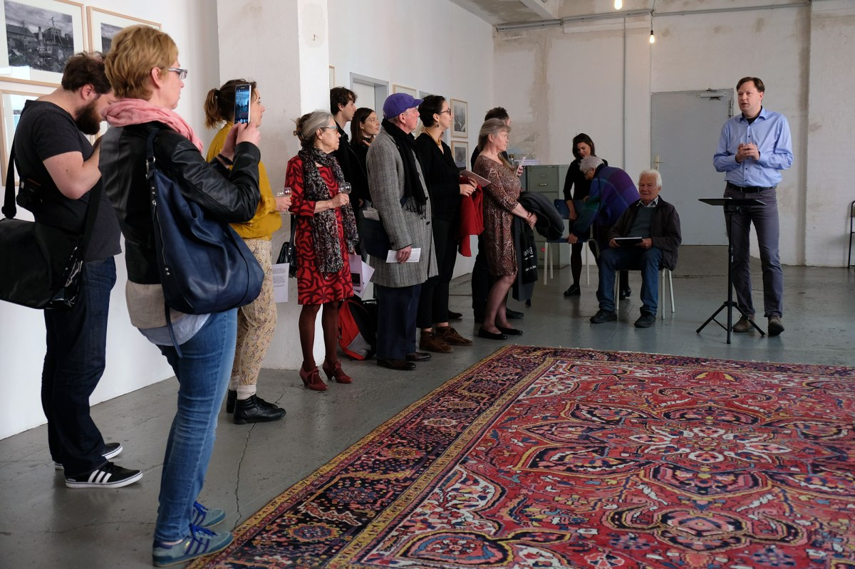 Exhibition opening at Stillpoint Spaces Berlin