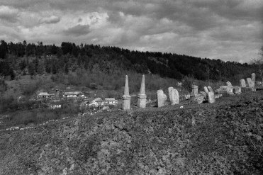 Jewish cemetery, Mohyliv-Podilskyi, Podolia, Ukraine, 2016