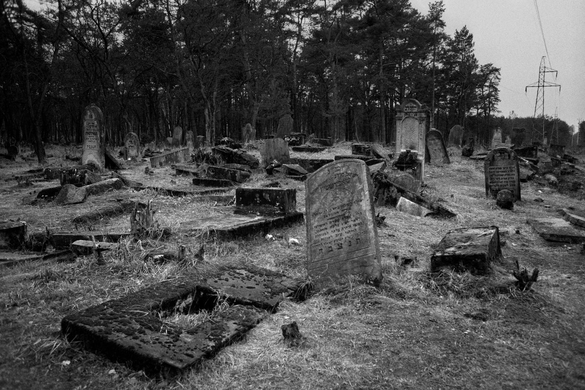 Otwock Jewish cemetery, south of Warsaw