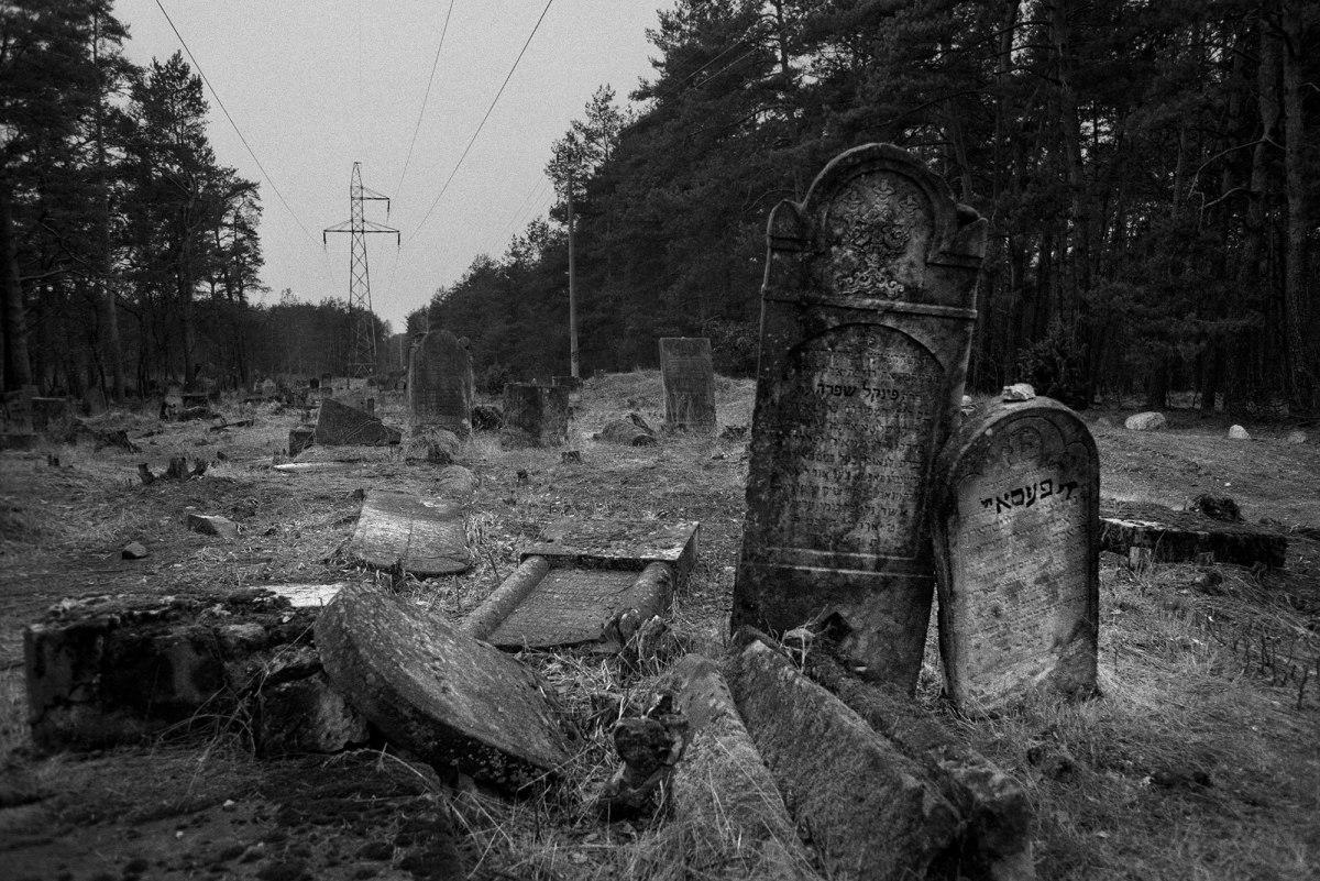 Otwock Jewish cemetery, south of Warsaw