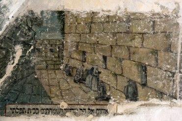 Chernivtsi (Czernowitz) - murals in the Groisse Shil