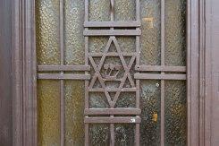 Chernivtsi (Czernowitz) - door decoration in the old Jewish quarter