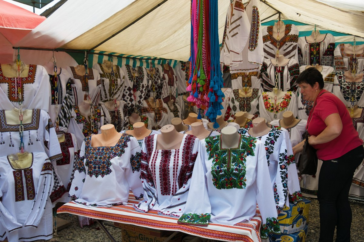 Kosiv crafts market