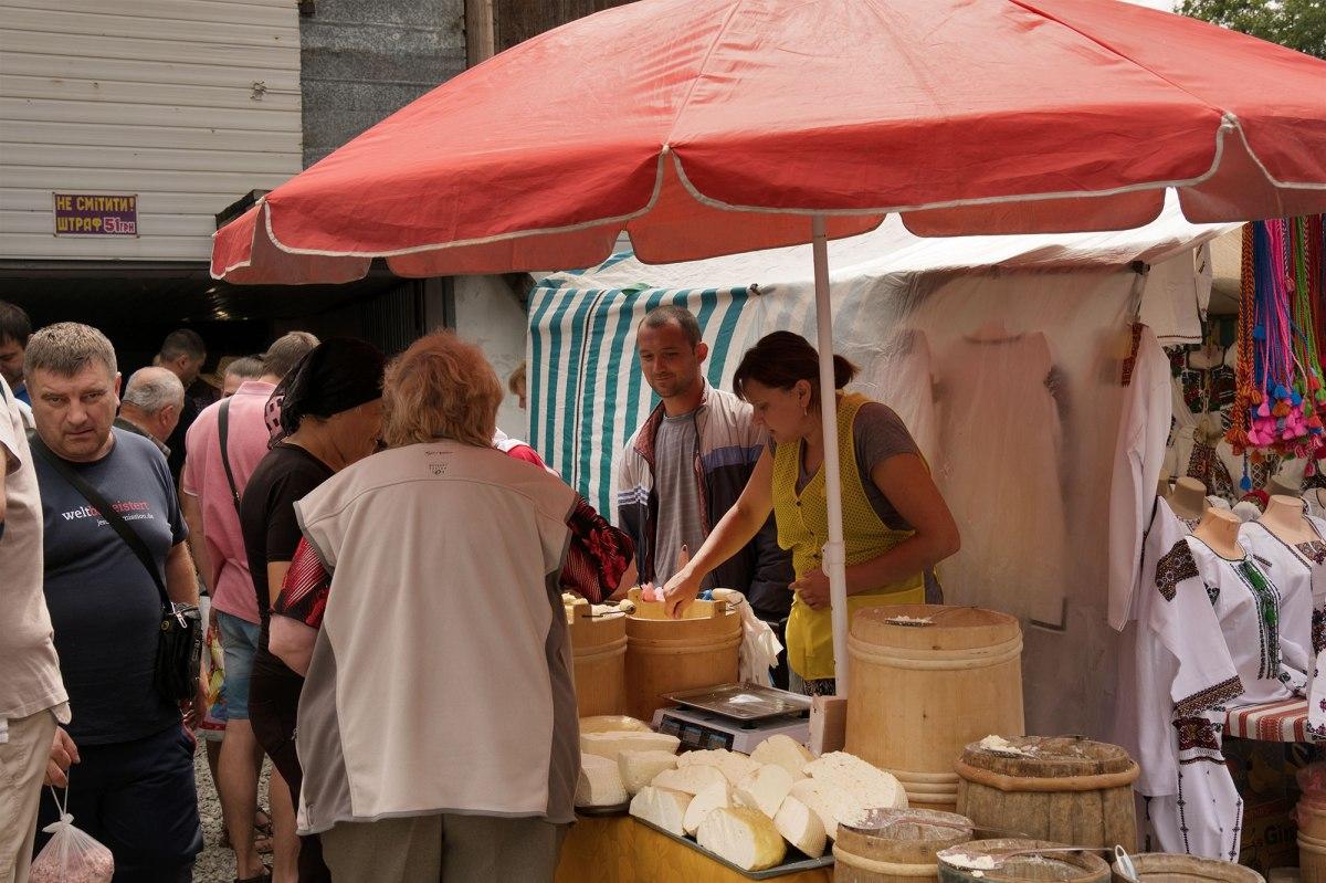 Kosiv crafts market